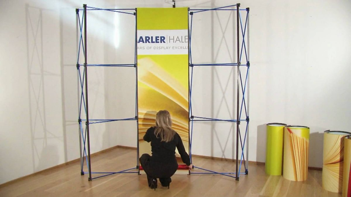 Enhance your Chances of Gaining Leads with Designer Popup Trade Show Displays